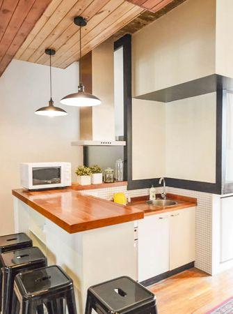 10-15万70平米公寓工业风风格餐厅欣赏图