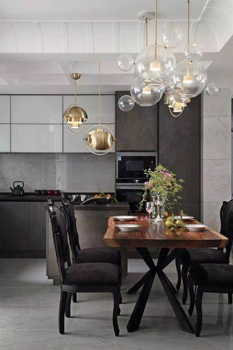 豪华型130平米三室两厅法式风格餐厅图片