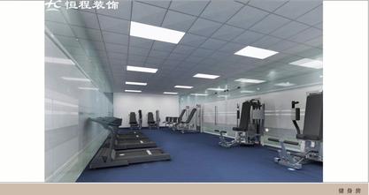 豪华型140平米公装风格健身房图片