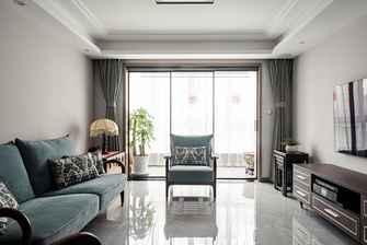 50平米公寓中式风格客厅设计图