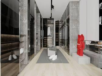 经济型三室两厅混搭风格衣帽间装修案例