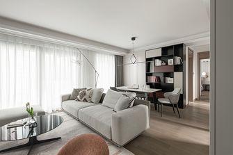 20万以上90平米现代简约风格客厅欣赏图