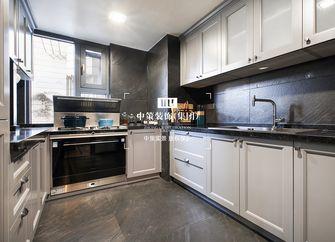 80平米公寓港式风格厨房装修效果图