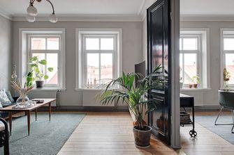 10-15万80平米三室两厅田园风格客厅装修效果图