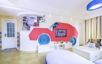 3万以下100平米三室一厅地中海风格客厅图片大全