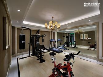 豪华型140平米别墅美式风格健身房装修效果图