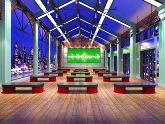 5-10万140平米公装风格健身房设计图