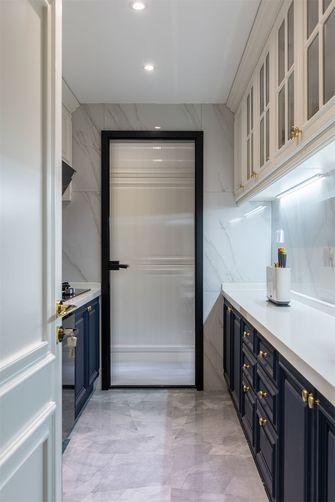 豪华型80平米法式风格厨房图