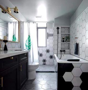 经济型110平米三室一厅现代简约风格卫生间设计图