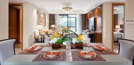 20万以上110平米三室两厅新古典风格餐厅欣赏图