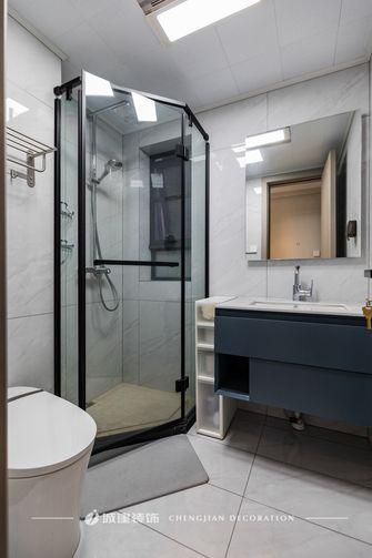 富裕型110平米轻奢风格卫生间装修案例