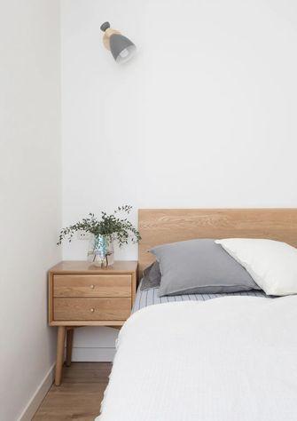 3-5万50平米田园风格卧室装修效果图