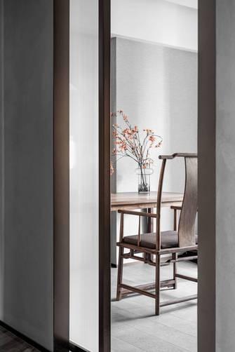 富裕型140平米三室两厅中式风格书房效果图