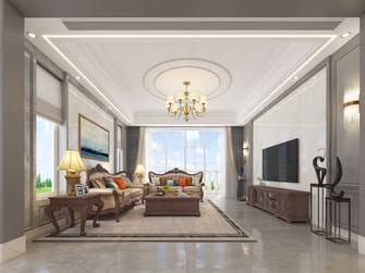 豪华型140平米别墅美式风格客厅欣赏图