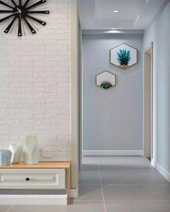 10-15万110平米三室两厅北欧风格走廊欣赏图