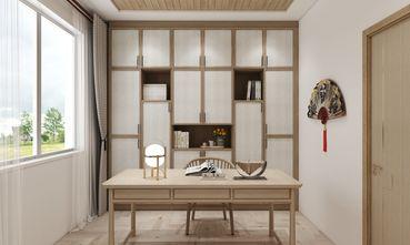 90平米三日式风格书房装修效果图