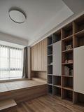 10-15万120平米三室两厅日式风格书房设计图