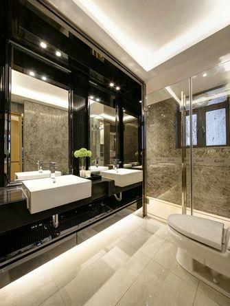 豪华型140平米四室一厅现代简约风格卫生间图片大全