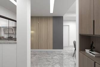 10-15万90平米三室一厅现代简约风格走廊效果图