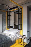130平米三现代简约风格卧室欣赏图