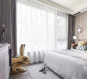 经济型80平米三室两厅现代简约风格卧室图片大全