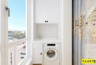 5-10万90平米三室两厅欧式风格阳台图