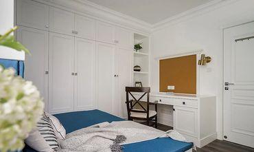 110平米三室一厅美式风格卧室设计图
