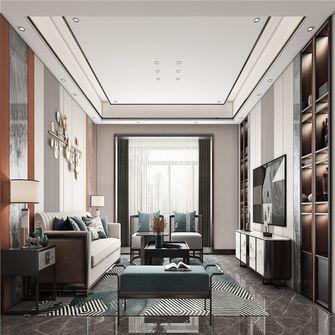 20万以上140平米三混搭风格客厅图