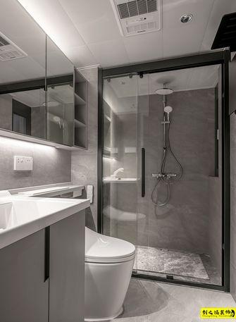 富裕型140平米三室两厅现代简约风格卫生间装修图片大全