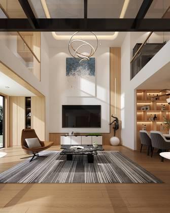 140平米复式日式风格客厅装修图片大全