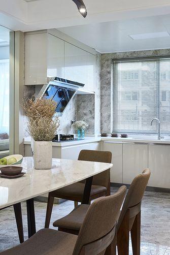 20万以上80平米三室两厅现代简约风格餐厅装修效果图