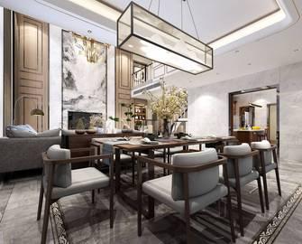 豪华型140平米四室三厅中式风格餐厅装修图片大全