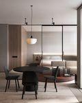90平米一室一厅日式风格厨房图