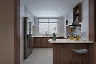 富裕型120平米公寓中式风格餐厅图
