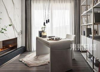 富裕型140平米四室两厅轻奢风格书房欣赏图
