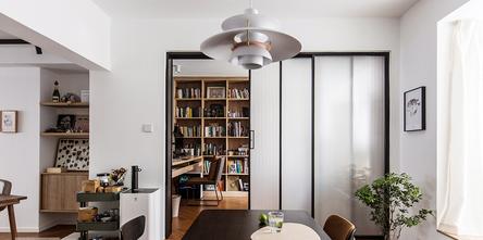 20万以上100平米三室一厅现代简约风格书房效果图