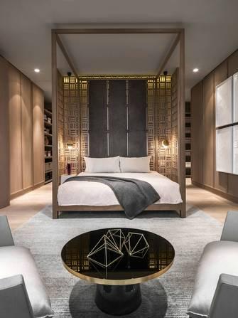 富裕型140平米四新古典风格卧室图