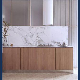 80平米三室一厅轻奢风格厨房装修案例
