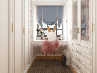 富裕型100平米三室两厅欧式风格衣帽间设计图