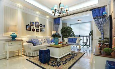 富裕型130平米三室两厅田园风格卧室效果图