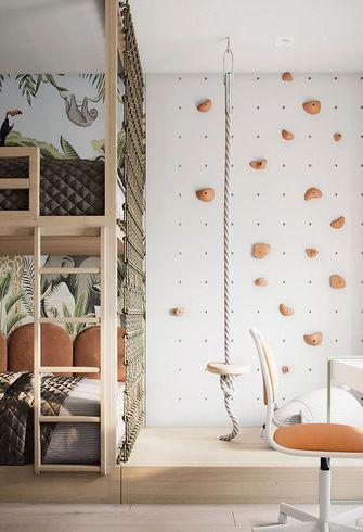 80平米现代简约风格青少年房图片