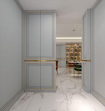 富裕型130平米三室两厅轻奢风格玄关设计图