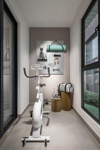 富裕型130平米四室两厅现代简约风格健身房装修效果图