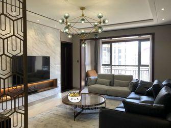 140平米三室三厅轻奢风格客厅欣赏图