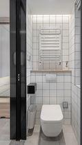 10-15万110平米三室两厅日式风格玄关装修效果图