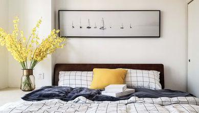 60平米一居室北欧风格卧室装修效果图