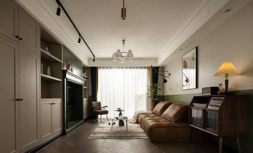 110平米三室两厅新古典风格客厅装修效果图