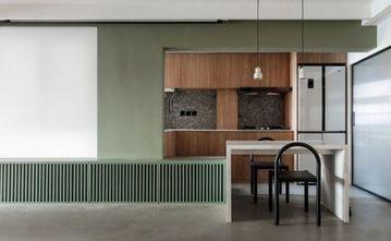 经济型60平米一居室现代简约风格餐厅图片