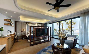 50平米一居室中式风格客厅装修效果图