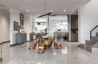 130平米四室两厅现代简约风格餐厅欣赏图